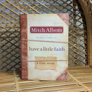 Hardcover Mitch Albom - Have a Little Faith Book